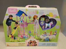 Happy Family 1st Birthday Backyard Playset for Barbie Doll Midge Nikki Alan Ryan