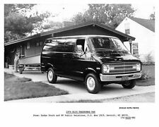 1976 Dodge B100 Tradesman Van Factory Photo c6549-DSIWDI
