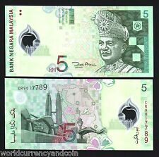 MALAYSIA 5 RINGGIT P47 2004 TALLEST TWIN TOWER POLYMER UNC CURRENCY MONEY 20 PCS