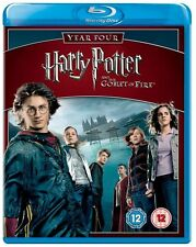 HARRY POTTER AND THE GOBLET OF FIRE YEAR 5 BLU RAY Brand New and Sealed UK