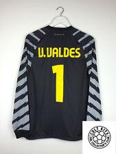 Barcelona VALDES #1 10/11 GK Football Shirt (S) Soccer Jersey Nike