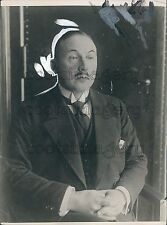 1921 Agriculture Scientist Andreas Hermes of Germany Press Photo