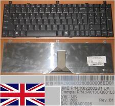 CLAVIER QWERTY UK ACER AS1800 1800 9500 PK13CQ601L0 K022602B1 KB.A2909.002 Noir