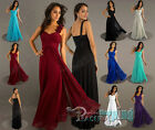 New Formal Long Evening Ball Gown Party Prom Bridesmaid Dress Plus Size
