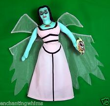 "New w tags 14"" Lily Munster Plush Soft Doll Toy Works The Munsters Figure Lilly"