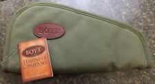 "NEW Boyt Harness HEART Shaped OD Green 14"" Pistol Revolver Gun Rug Case PP63"