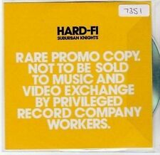 (BY950) Hard-Fi, Suburban Knights - 2007 DJ CD