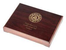Lunar serie i münzbox/Box/münzenbox/münzkassette para 12x 1 Oz Gold-madera