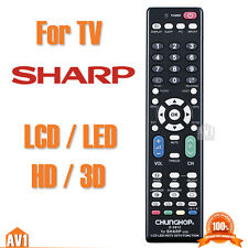 TV Remote control for SHARP. No need setting. Quality universal good compatible