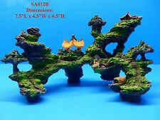 MOUNTAIN VIEW CAVE BRIDGE TREE SA012B AQUARIUM DECOR RESIN FISH TANK ORNAMENT