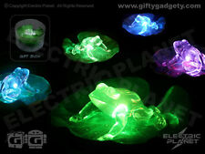 Froggy Pad LED Garden Pond Light - Battery Operated & Colour-Changing