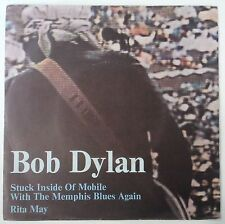 """Bob Dylan Stuck Inside Of Mobile With The Memphis Blues Again Single 7"""" Italia"""
