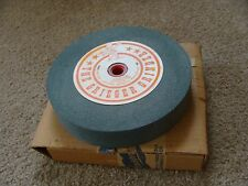 "Vintage 100 grit lapidary grinding wheel 8"" x 1 1/2"" Greiger NEW in Box"