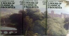 3 Hours Of Classical Favourites  3 Audio Cassettes