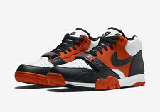 "Mens Nike Air Trainer I Mid ""Halloween"" SZ 10 Team Orange White Black 317554-800"
