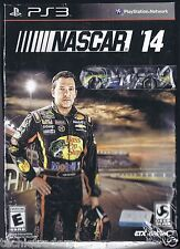 Nascar 14 with Official NASCAR Tony Stewart 14 Car (PS3 2014)   Factory Sealed