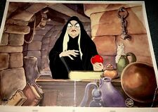 Disney Snow White The Evil Witch Cel from The Villains Portfolio Set Rare cell