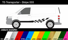 VW Transporter T4 T5 - x2 Side Stripe - Decals / Stickers / Graphics ref003