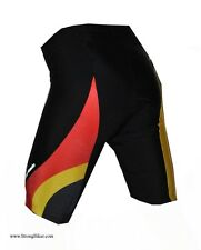 New Barbedo Germany National Colors Cycling Shorts flat seam w/pad Small only