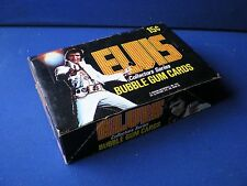 Donruss ' ELVIS ' Bubble Gum  Shop Counter Display Box   1978
