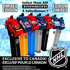 Pez New Canadian 2015 NHL Hockey ZAMBONI Complete  SET of 7 on CARDS LIMITED