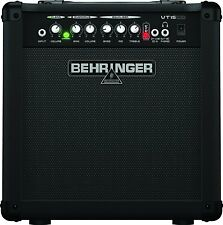 Behringer Virtube 15W Guitar Amplifier Amp 2 Channels VTC Tube and Speaker
