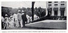 1910  --  INDE TIBET  ENTREE DU DALAI LAMA A CALCUTTA    3L262