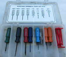MILLER TOOLS - 8197 ELECTRIC TERMINAL TOOL KIT NOT COMPLETE MOPAR SPECIALTY SET