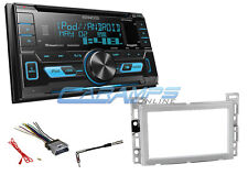NEW KENWOOD DOUBLE 2 DIN STEREO W XM RADIO USB/AUX INPUTS & CD PLAYER & HARNESS