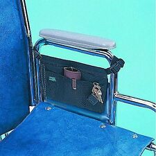 Wheelchair Armrest Carry Tote Bag Pouch Pack Organizer