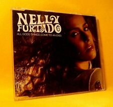 NEW PROMO MAXI Single CD Nelly Furtado All Good Things (Come To An End) 1TR 2006