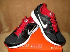 NEW NIKE AIR RELENTLESS 3 RUNNING SHOE BLACK/SILVER/RED/WHT MEN'S 9.5