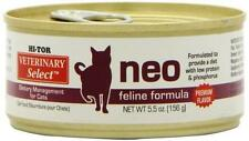 Hi-Tor Veterinary Select NEO DIETARY Can Cat Food 5.5oz Can/Case of 24 TR00478