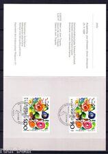 Schweiz Nr. 1380  Stempelblatt  Tinguely mit Gemeinschaftsausgabe Frankreich