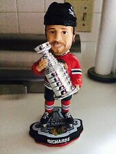 BRAD RICHARDS 2015 STANLEY CUP CHAMPIONS CHICAGO BLACKHAWKS BOBBLEHEAD