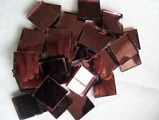 Glass Mosaic Tiles -DUSTY ROSE MIRROR GLASS mosaic tiles