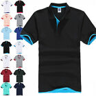2016 Men's Short Sleeve Golf Polo T-Shirt MultiColors Asia Size M L XL 2XL 3XL