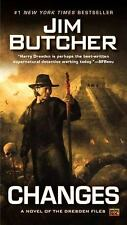 Changes: A Novel of the Dresden Files Butcher, Jim Books-Acceptable Condition