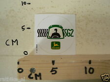 STICKER,DECAL JOHN DEERE SG2 TRACTOR
