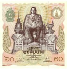 """Thailand 1987 year 60 Baht""""The King's 60th birthday""""Brand new BankNotes"""