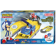 Meccano Sonic And Knuckles Chemical Plant Racing Playset