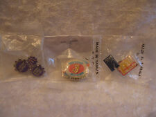 Lot of McDonald's Crew Pins - Tier Challenge, Go Go Gadget, Penn Lapel/Hat Pins