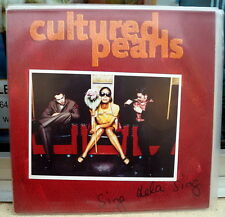 "Cultured Pearls ""Sing dela sing"" RARE 1995 WEA LP"