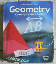 McDougal Littell GEOMETRY Concepts&Skills, Text 2003