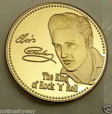 Elvis Presley Gold Coin Americana Sings Blues Rock Pop Memphis Tennessee Signed