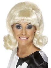1960's 70's Blonde Funky Flick Up Fun Party Wig Festival Fancy Dress Clubbing