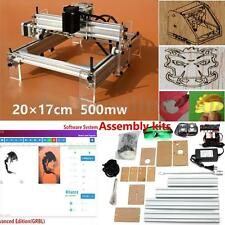 500MW USB Laser Graveur Gravure Machine Engraving Cutter Marquage 200X170mm