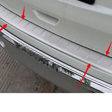 Car Rear Chrome Bumper Guard Protector Cover Protection Trim For Nissan Rogue