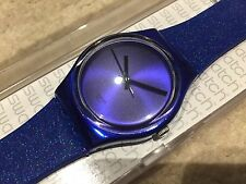 "BRAND NEW SWATCH GENT ""INTENSE BLUE"" GS144 WATCH LADIES/BOYS/GIRLS"