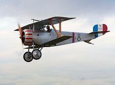 Giant 1/4 Scale French WW-I  Nieuport 17 Biplane Plans and Templates